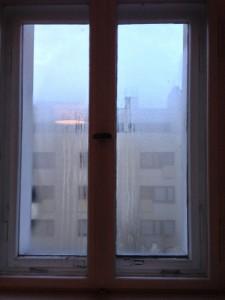 Fenster abdichten gegen schwitzende Fenster, Fensterabdichtung erforderlich